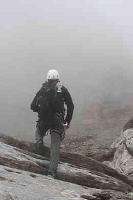Aufstieg zum Rotstock/Eiger