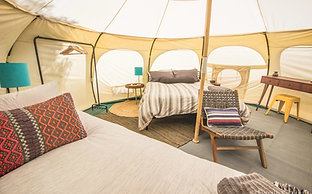 Shasta Glamping Double