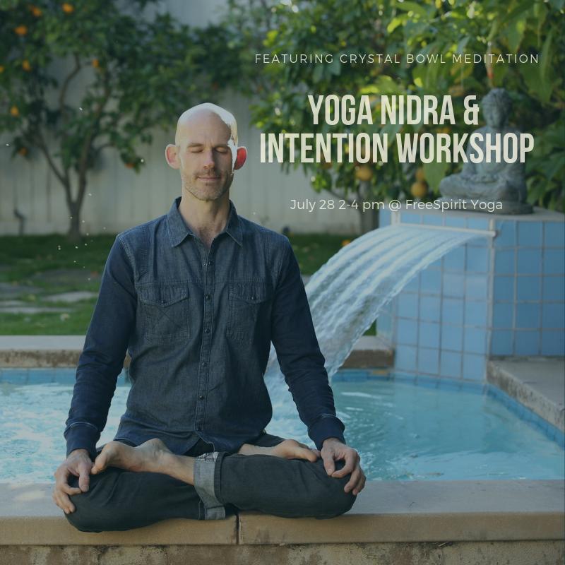 Yoga Nidra & Intention Workshop