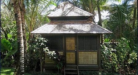 Balinese Wooden Hut