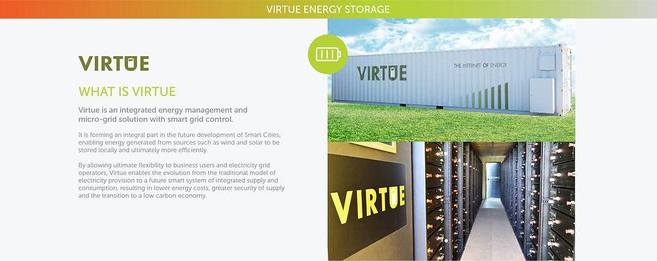 Virtue Battery Storage