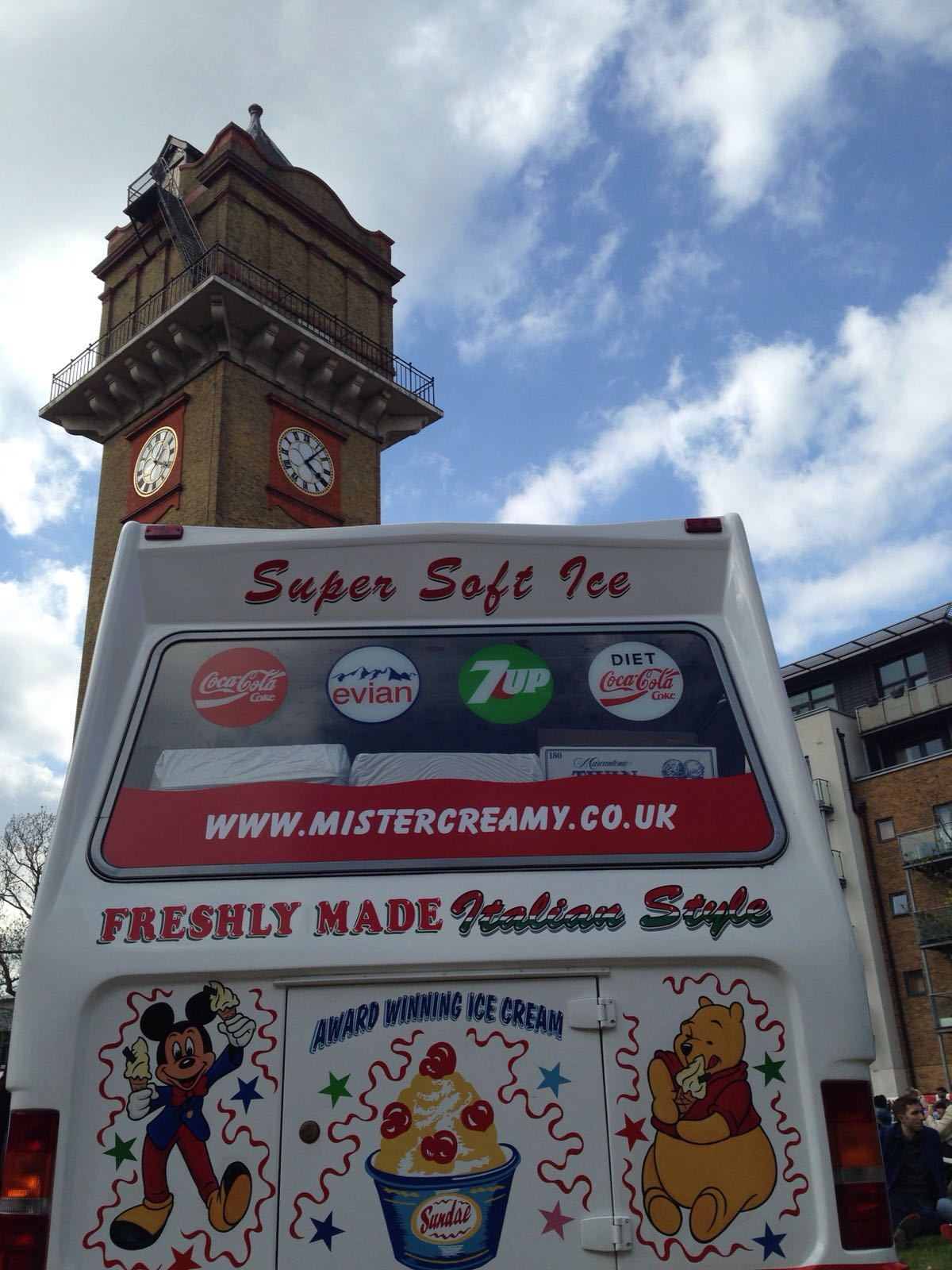 Mister Creamy Ice Cream Van Hire
