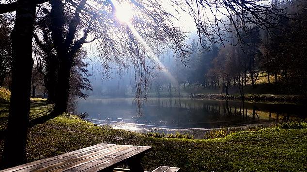 Caylus lake January 2021