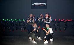 Lasertag Welt besucher
