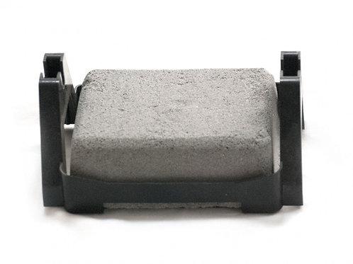 Держатель токоотвода на плоской кровле пластик морозоустойчивый  (с бетонным бло
