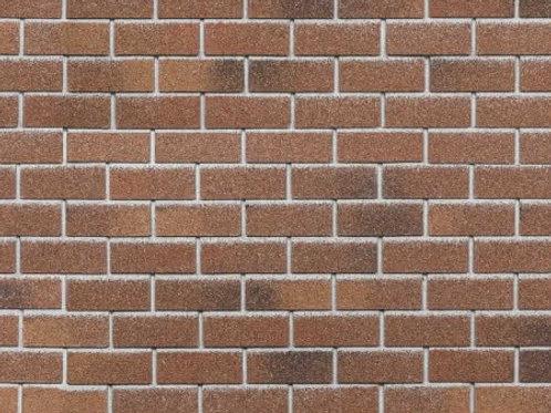 Фасадная плитка Hauberk Технониколь Кирпич Красный кирпич (1 кв.м)