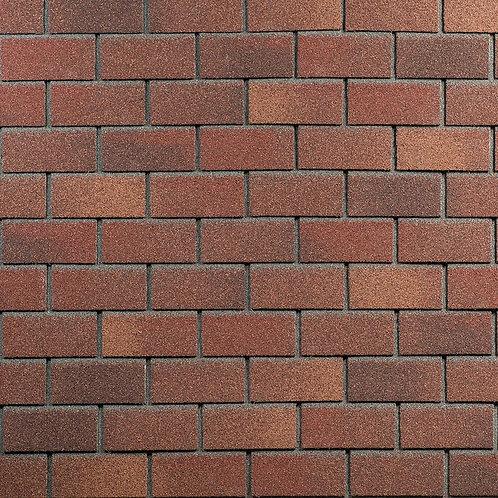 Фасадная плитка Hauberk Технониколь Кирпич Терракотовый кирпич (1 кв.м)