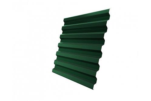 Профнастил С21R 0,4 PE RAL 6005 зеленый мох за м2