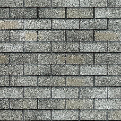 Фасадная плитка Hauberk Технониколь Кирпич Серо-Бежевый кирпич (1 кв.м)