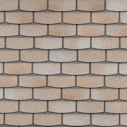 Фасадная плитка Hauberk Технониколь Камень Травертин (1 кв.м)