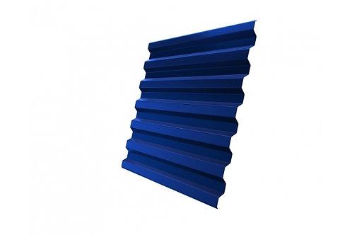 Профнастил С21R 0,4 PE RAL 5005 сигнальный синий за м2