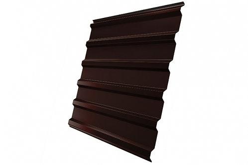 Профнастил С20R 0,4 PE RAL 8017 шоколад за м2