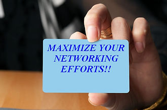 BJ's business card, maximize your networking