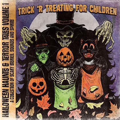 Halloween Haunts & Terror Tales Volume I: Trick 'R Treating for Children USB