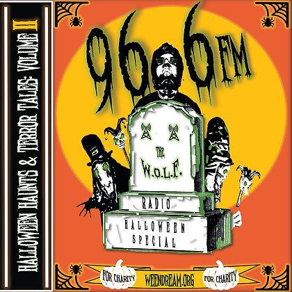 Halloween Haunts & Terror Tales Volume II: Cemetery Shivers USB Cassette