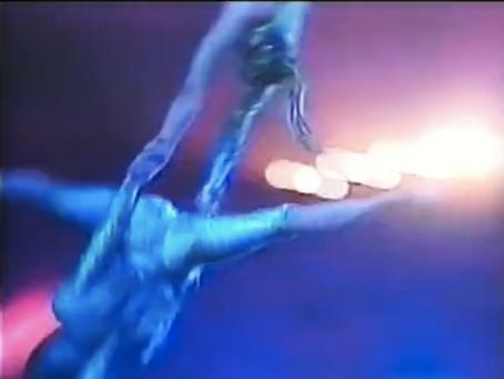 Swinging double trapeze, at the Cirkus Prinsessan Festival, at Cirkus Scott in Stockholm (1995)