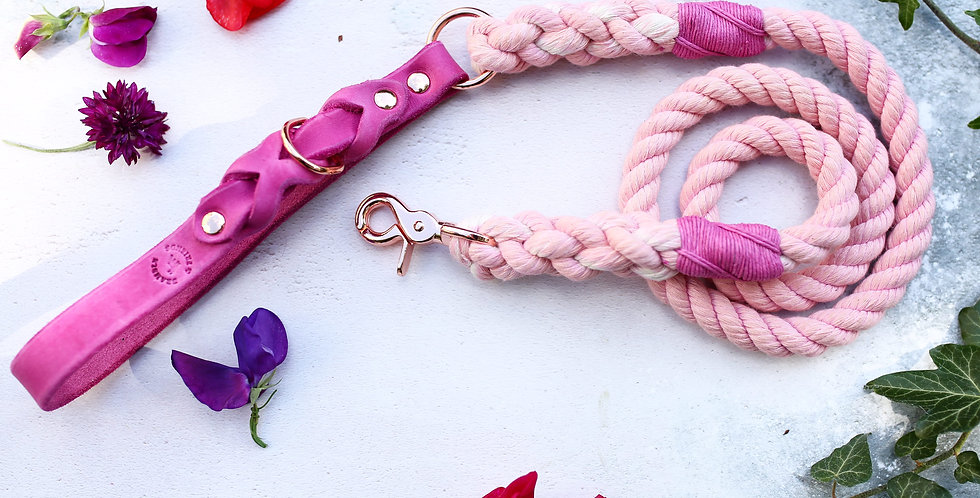 Pale Pink - Rope Leads