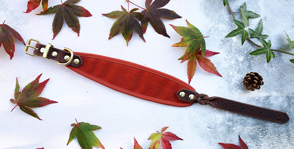 Wholesale RUST - Dry Oilskin Collar