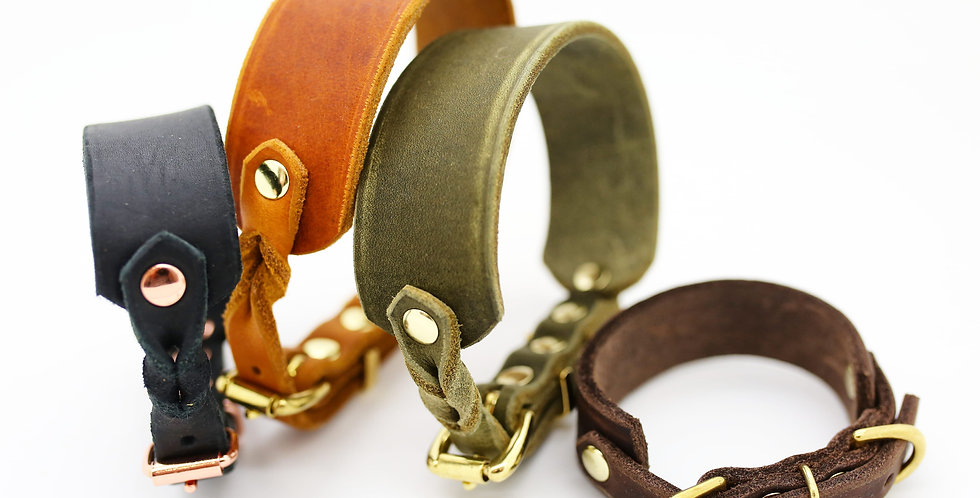 Wholesale - Leather Softies - Hound Collars