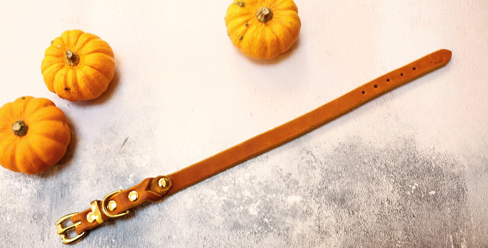 #426 - 15mm Extra Soft Leather, Neck Sizes 26-32cm