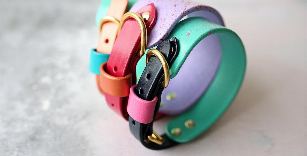 Hand Painted Hound Collar - Custom