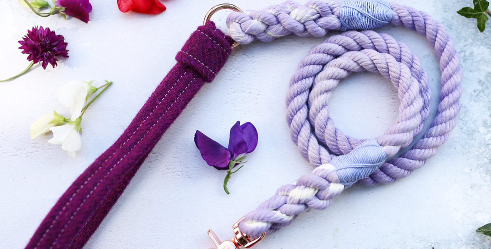 Lavender - Rope Leads