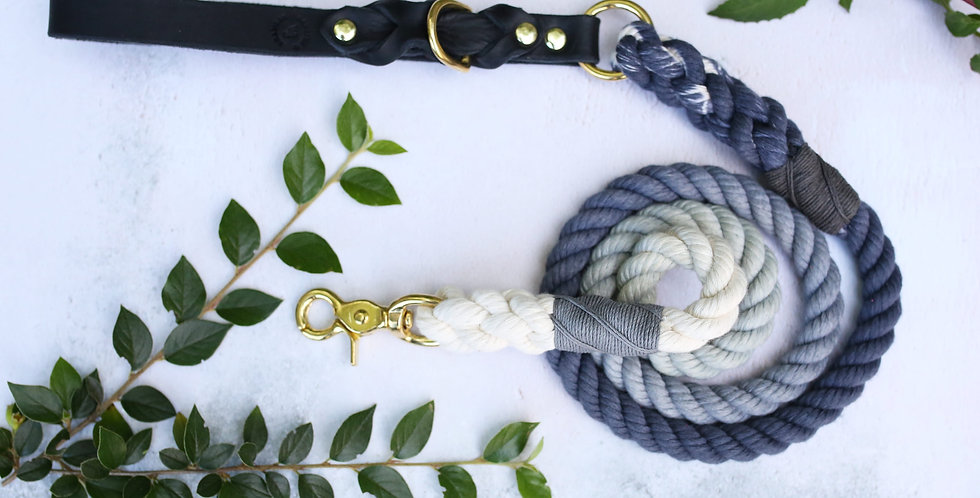 Charcoal Ombre - Rope Leads