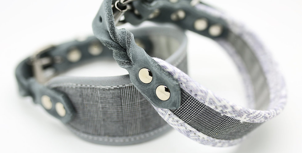 Wholesale GREY CHECK - Dry Oilskin Collar