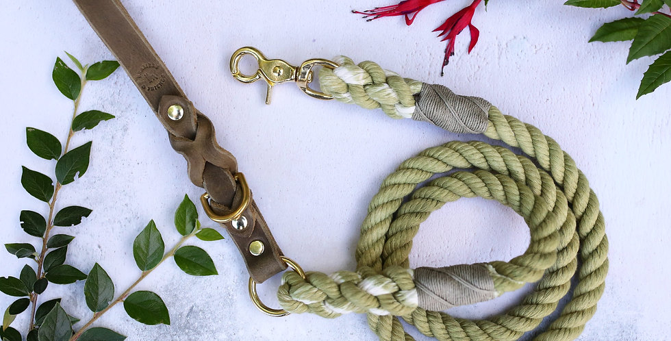 Olive - Rope Leads