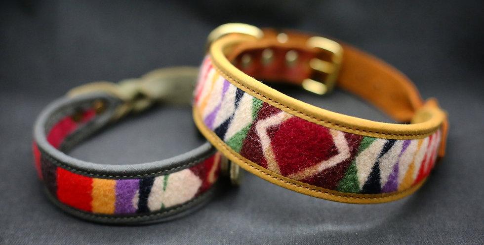WS Pendleton and Soft Leather Collar - Ori