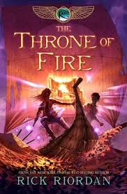 The Throne of Fire by Rick Riodan
