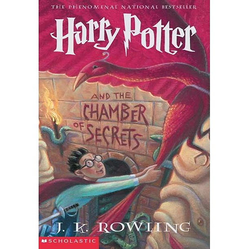 Harry Potter and the Chamber of Secrets by J.KRowling