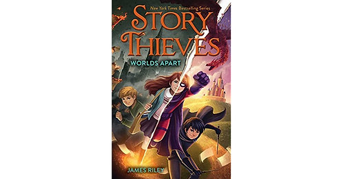 Story Thieves: Worlds Apart by James Riley