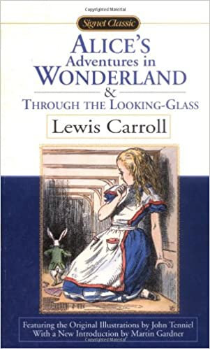 Alice's Adventures in wonderland & through the looking glass by Lewis Carrol