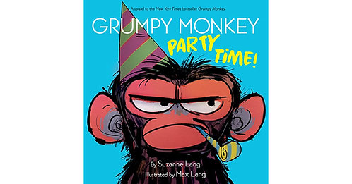 Grumpy Monkey Party Time by Suzanne Lang
