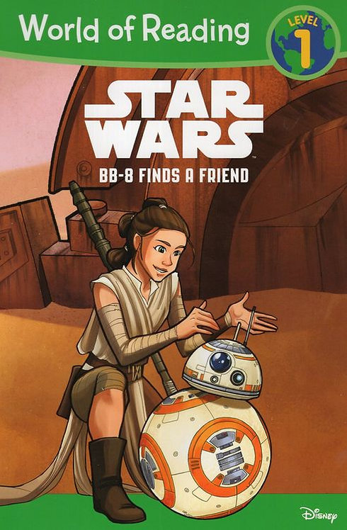 Star Wars: BB-8 Finds a Friend Early Reader Level 1