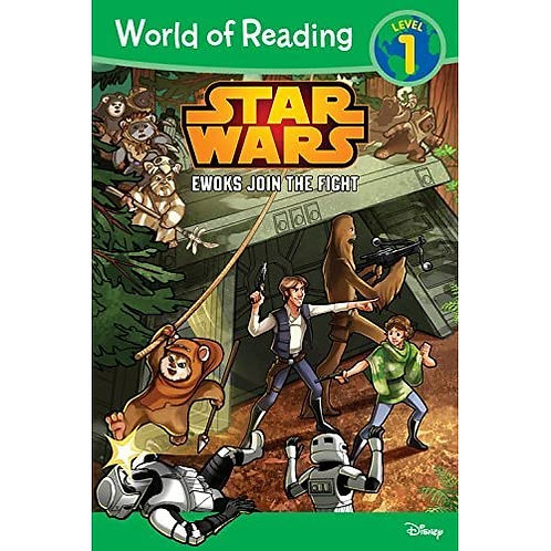 Star Wars: Ewoks Join the Fight Early Reader Level 1