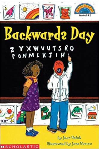 Backwards Day *Early Reader* by Joan Holub