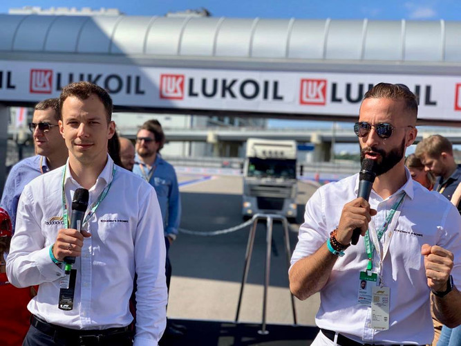 Truck Tour at 2019 Russian GP