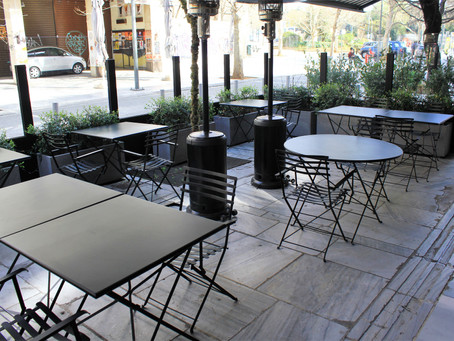 Restaurants can now use electric heaters with properly rated extension cords