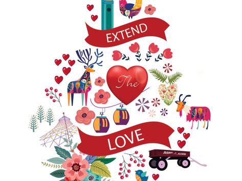 'Extend the Love' Project Kicks Off Six Week of Love