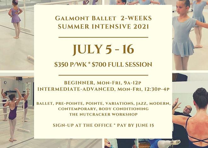 GB summer intensive