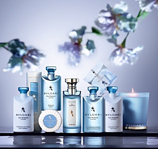 Bvlgari Blue Tea Collection