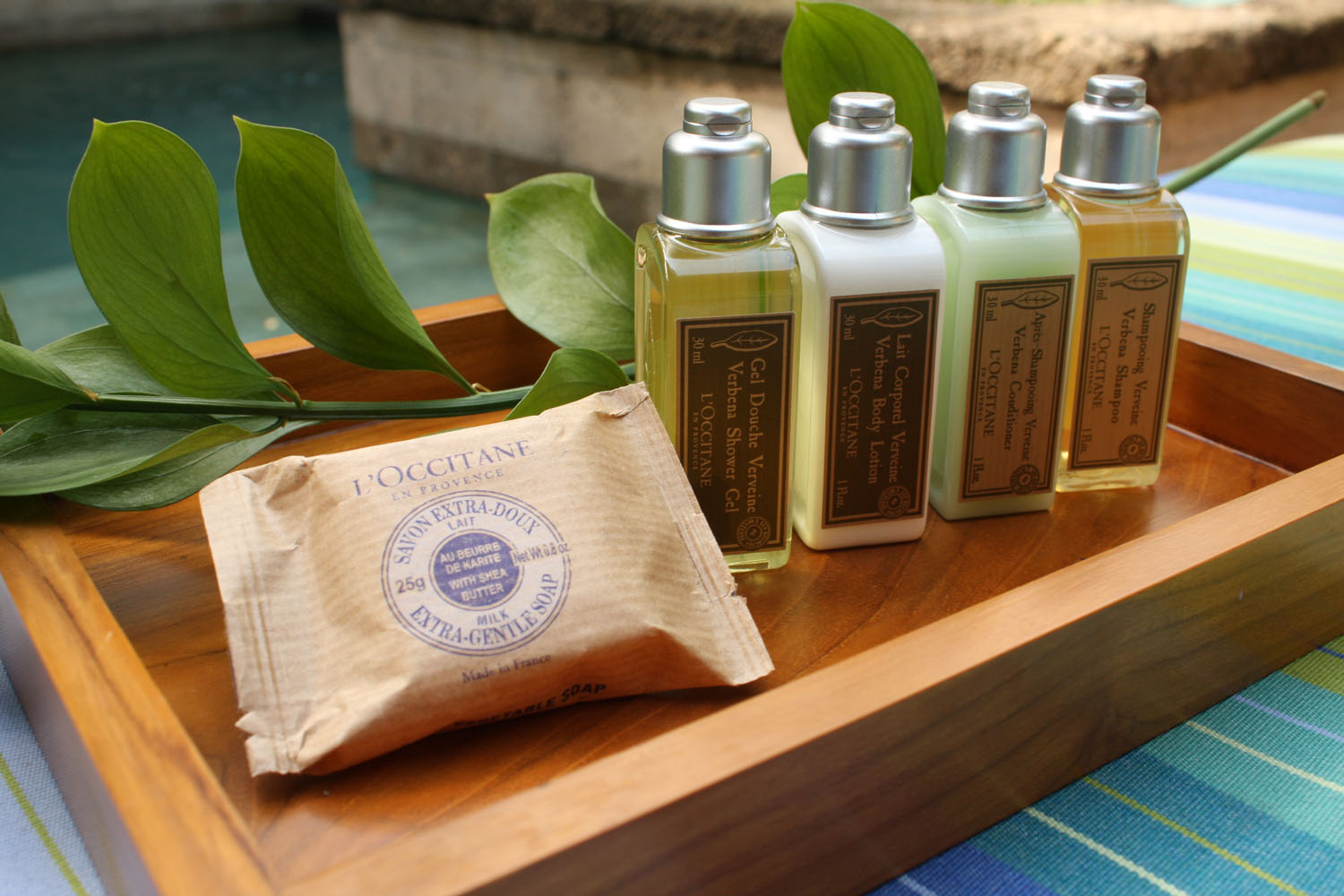 L'Occitane Yacht Toiletries