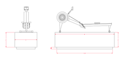 Rower Pedestal