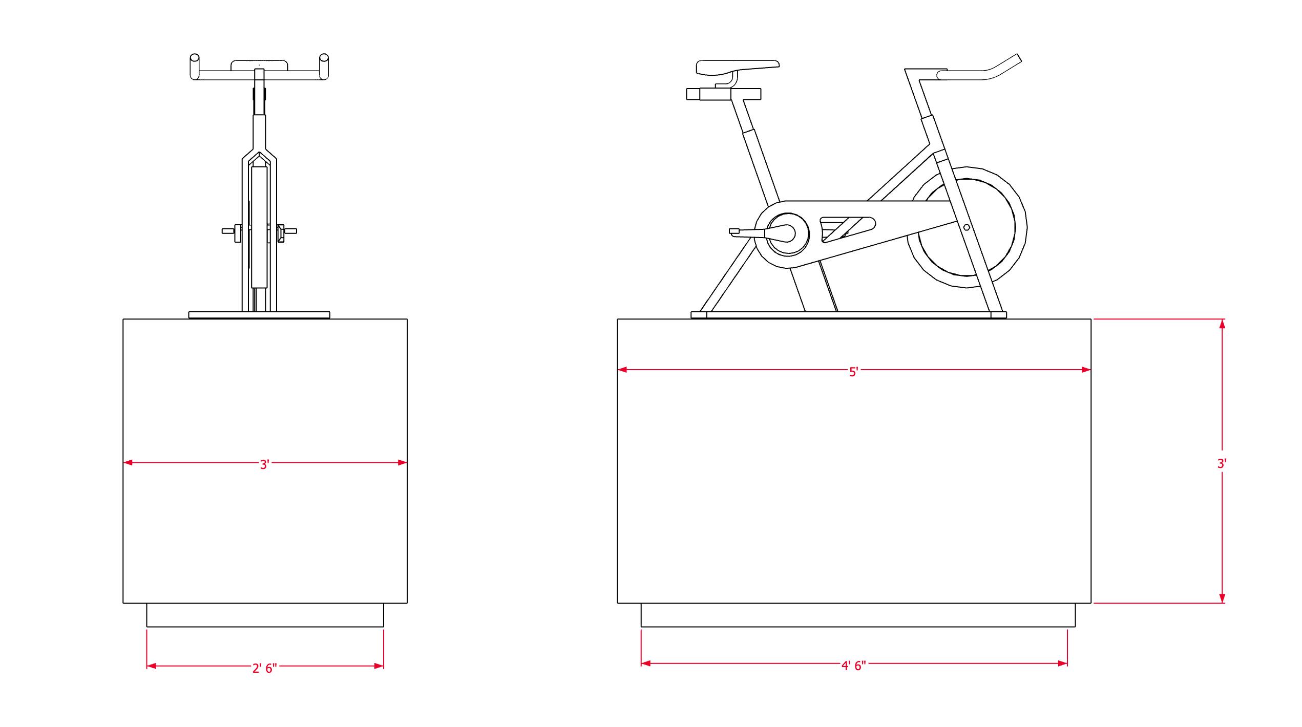 Bike Pedestal