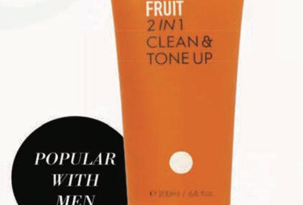 Fruit 2in1 Clean & Tone Up Gel