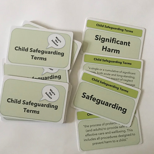 Child Safeguarding Terms and Definitions