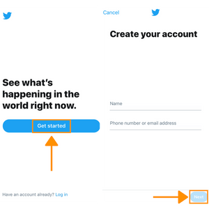 How To Quickly Set Up A Twitter Account