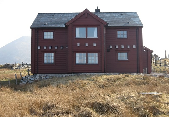 The Wooden House in Breanish